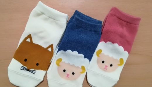 数々の靴下を買った結果「靴下屋」が一番でした|幼稚園児の痒くならない靴下選び