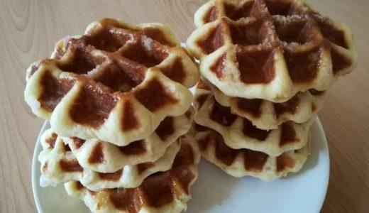【本格 手作り】一番人気だったベルギーワッフルのレシピ