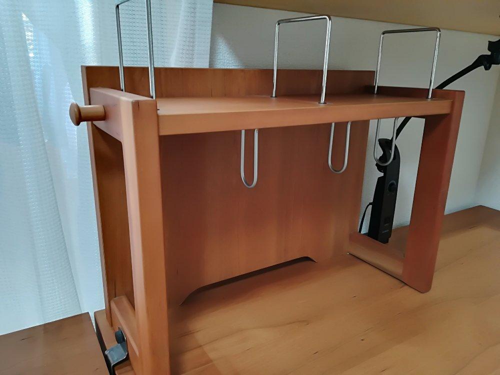 カリモクの学習机用ブックスタンド