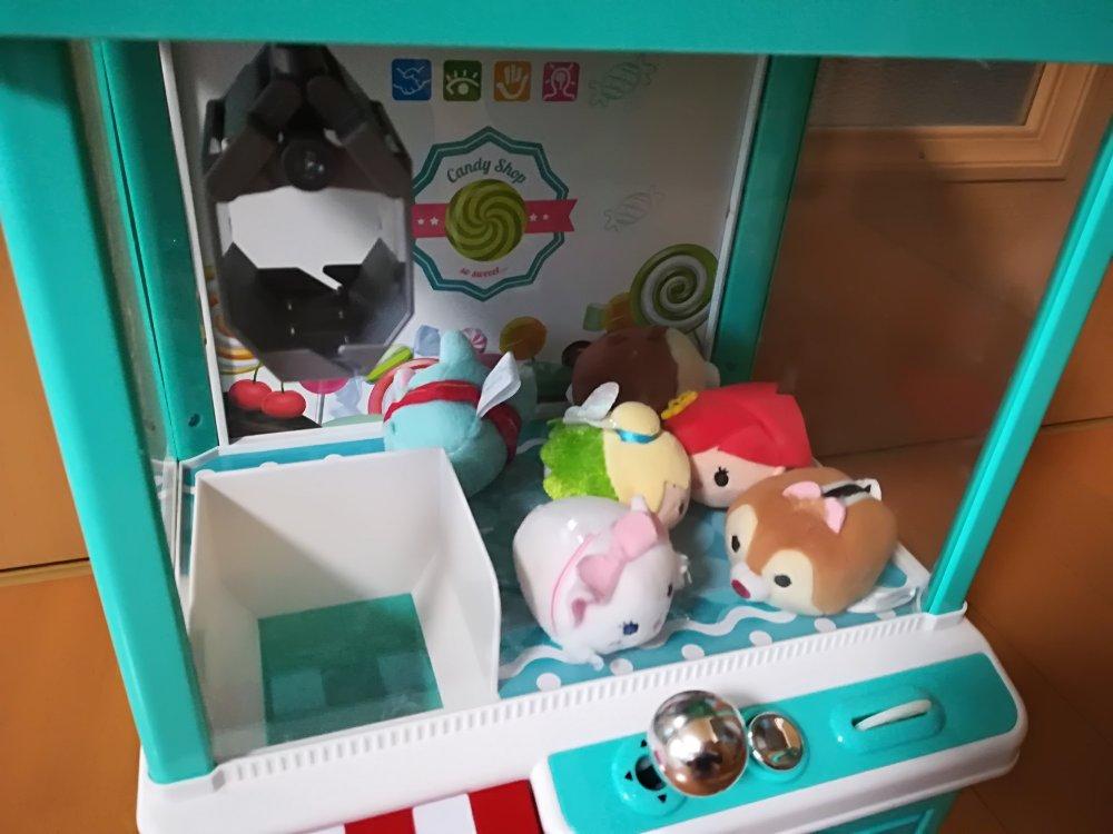 おもちゃのクレーンゲーム(ツムツム)