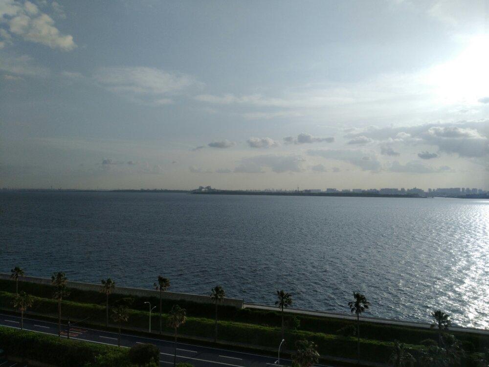 東京ベイ舞浜ホテルからの景色(10階)